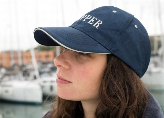 Cap mit Schirmmütze als natürlicher Sonnenschutz. Sehr angenehm zu tragen. Ein Klassiker aus schnelltrocknendem Polyestergewebe. (Bild 4 von 5)