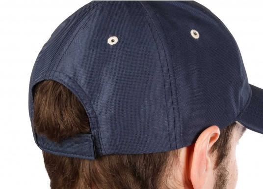 Cap mit Schirmmütze als natürlicher Sonnenschutz. Sehr angenehm zu tragen. Ein Klassiker aus schnelltrocknendem Polyestergewebe. (Bild 5 von 5)