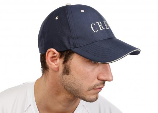 Cap mit Schirmmütze als natürlicher Sonnenschutz. Sehr angenehm zu tragen. Ein Klassiker aus schnelltrocknendem Polyestergewebe. (Bild 3 von 5)