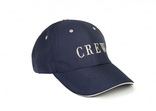 Cap mit Schirmmütze als natürlicher Sonnenschutz. Sehr angenehm zu tragen. Ein Klassiker aus schnelltrocknendem Polyestergewebe.