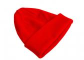 Bonnet en mailles fines/ rouge