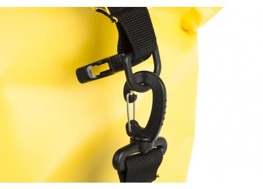 Wasserdichter Seesack aus hochwertigem PVC mit abnehmbaren Schultergurt. Rollschließmechanismus mit Clipverschluss. Ideal zum Schutz von persönlichen Wertgegenständen. (Bild 4 von 4)