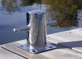 Bollard / stainless steel