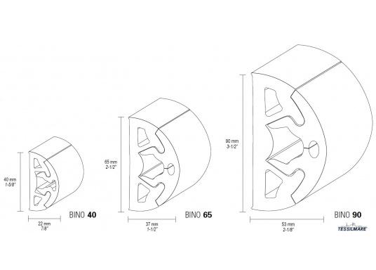Scheuerleisten in modernem Design speziell für die Schifffahrt. Die flexiblen Leistenlassen sich in minutenschnelle montieren. Die Länge kann individuell gekürzt werden. Länge: 12 m. (Bild 12 von 12)
