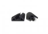 BINO65 Rubber Profile Set / black