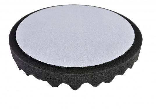 Passender Polierschwamm für die SVB-Winkelpoliermaschine.Der Aufnahmedurchmesser beträgt 180 mm.Der tatsächliche Außendurchmesser des Schwammes beträgt 200 mm. (Bild 2 von 2)