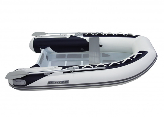 Let the adventures begin! The sturdy inflatable boats of the SEATEC PRO ADVENTURE series convince with their aluminum flooring and high-quality, weather-resistant polyurethane coatings, making them suitable for professional use in demanding conditions. (Afbeelding 5 of 13)