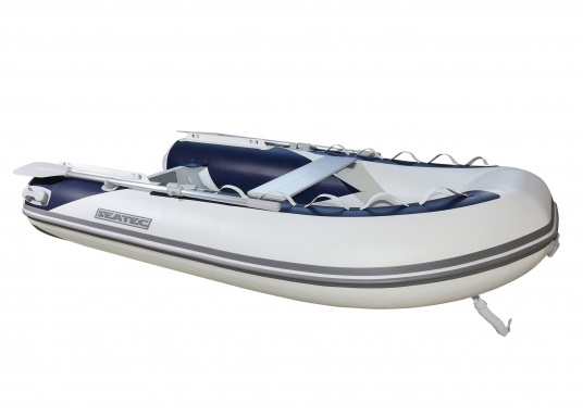 Let the adventures begin! The sturdy inflatable boats of the SEATEC PRO ADVENTURE series convince with their aluminum flooring and high-quality, weather-resistant polyurethane coatings, making them suitable for professional use in demanding conditions.