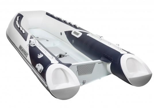 Let the adventures begin! The stable inflatable boats of the SEATEC PRO ADVENTURE series convince with their aluminum flooring and high-quality, weather-resistant polyurethane coatings, making them suitable for professional use in demanding conditions. (Afbeelding 2 of 8)