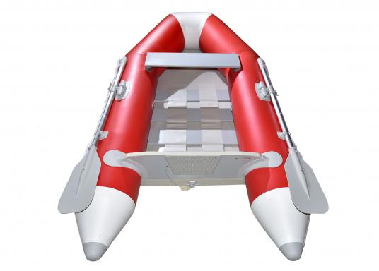 Ausgezeichnetes Preis-/Leistungsverhältnis, einfache Handhabung und gute Fahreigenschaften: Das ist unser Yachttender NEMO 230! (Bild 3 von 10)