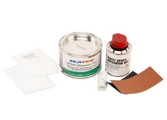 Ungefülltes und lösemittelfreies Epoxidharz für einen vielseitigen Einsatzbereich. Das Harz eignet sich zum Laminieren, Verkleben, Verfüllen oder Beschichten. Es hat eine ausgezeichnete Haftung auf vielen Materialien. (Bild 2 von 2)