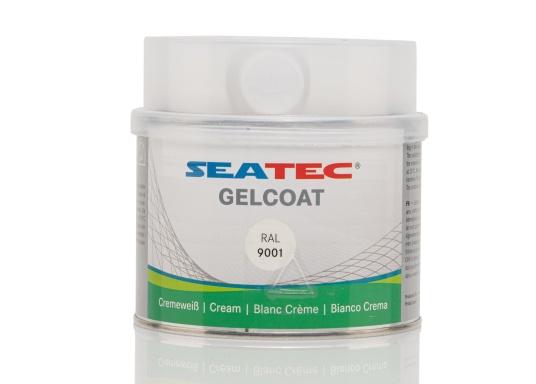 Das SEATEC Gelcoat ist ein zwei komponentiges Polyester Gelcoat mit MEKP-Härter. Es bildet eine wasserbeständige Deckschicht auf GFK-Beschichtungen und Polyester-Spachtelschichten. (Bild 3 von 4)