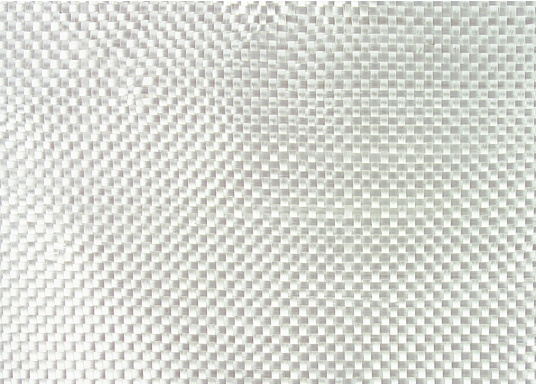 Glass fabric (twill weave) for the production of laminates in combination with polyester or epoxy resin.  (Afbeelding 2 of 2)
