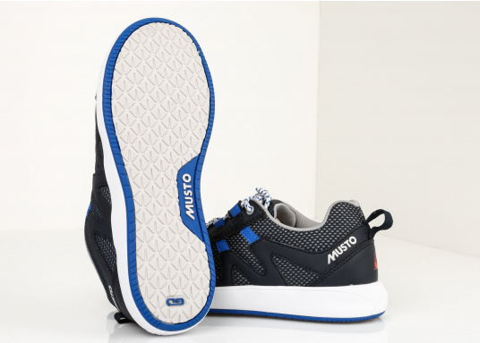 De Musto Chaussures Marine Bleu 95 Pont 79 Nautic Speed Seulement CexBod