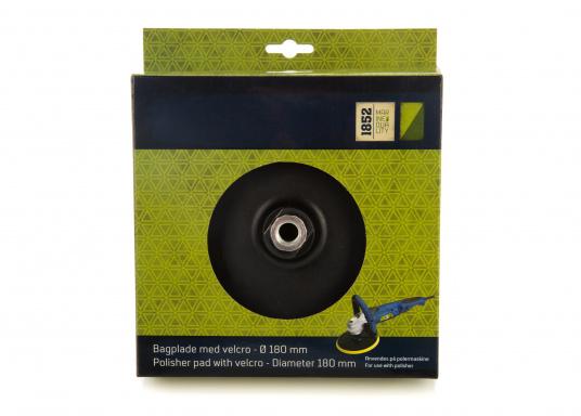 Passender Stützteller für die SVB-Winkelpoliermaschine.Der Aufnahmedurchmesser beträgt 180 mm.  (Bild 4 von 4)