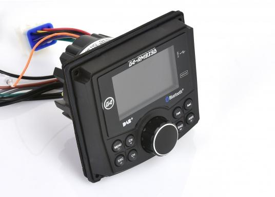 Das Radio G4-RM935D von GUSSI sorgt für grenzenlosen Unterhaltungsspaß an Bord und vereint hochwertiges Design und intuitive Bedienung in einem Gehäuse. (Bild 3 von 11)