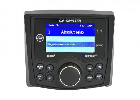 Das Radio G4-RM935D von GUSSI sorgt für grenzenlosen Unterhaltungsspaß an Bord und vereint hochwertiges Design und intuitive Bedienung in einem Gehäuse. (Bild 9 von 11)