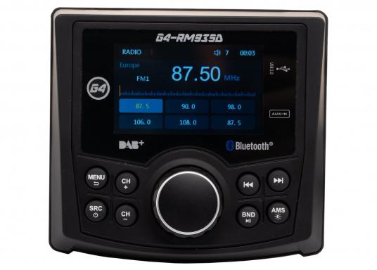 Das Radio G4-RM935D von GUSSI sorgt für grenzenlosen Unterhaltungsspaß an Bord und vereint hochwertiges Design und intuitive Bedienung in einem Gehäuse. (Bild 2 von 11)