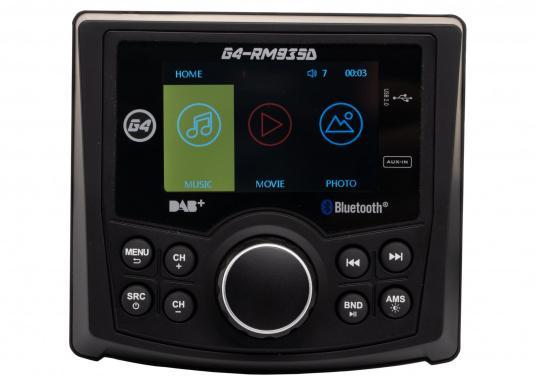 Das Radio G4-RM935D von GUSSI sorgt für grenzenlosen Unterhaltungsspaß an Bord und vereint hochwertiges Design und intuitive Bedienung in einem Gehäuse. (Bild 6 von 11)