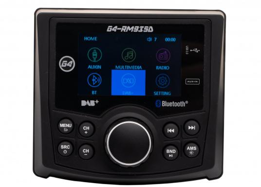 Das Radio G4-RM935D von GUSSI sorgt für grenzenlosen Unterhaltungsspaß an Bord und vereint hochwertiges Design und intuitive Bedienung in einem Gehäuse. (Bild 5 von 11)