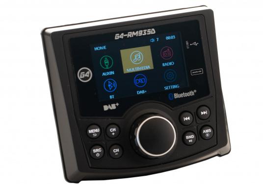 Das Radio G4-RM935D von GUSSI sorgt für grenzenlosen Unterhaltungsspaß an Bord und vereint hochwertiges Design und intuitive Bedienung in einem Gehäuse. (Bild 7 von 11)