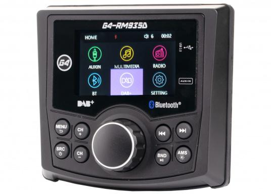 Das Radio G4-RM935D von GUSSI sorgt für grenzenlosen Unterhaltungsspaß an Bord und vereint hochwertiges Design und intuitive Bedienung in einem Gehäuse.