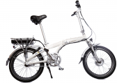 Afbeelding van BLIZZARD PRO Electric Folding Bike / white