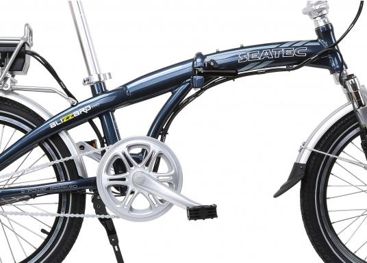 Take the road less traveled with the new BLIZZARD PRO electric folding bike. As the next generation of the popular predecessor BLIZZARD, the bike comes with a host of new features for an even wider range and more flexibility. Experience why folding electric bikes are all the hype now and are here to stay! (Imagen 2 de 20)