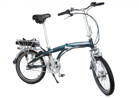 Take the road less traveled with the new BLIZZARD PRO electric folding bike. As the next generation of the popular predecessor BLIZZARD, the bike comes with a host of new features for an even wider range and more flexibility. Experience why folding electric bikes are all the hype now and are here to stay! (Imagen 9 de 20)