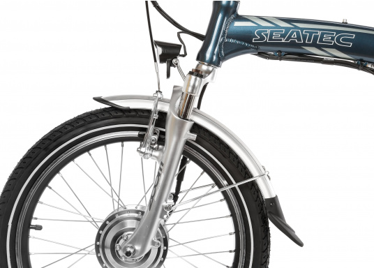 Take the road less traveled with the new BLIZZARD PRO electric folding bike. As the next generation of the popular predecessor BLIZZARD, the bike comes with a host of new features for an even wider range and more flexibility. Experience why folding electric bikes are all the hype now and are here to stay! (Imagen 15 de 20)