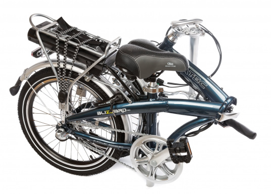Take the road less traveled with the new BLIZZARD PRO electric folding bike. As the next generation of the popular predecessor BLIZZARD, the bike comes with a host of new features for an even wider range and more flexibility. Experience why folding electric bikes are all the hype now and are here to stay! (Imagen 17 de 20)