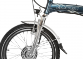 BLIZZARD PRO Electric Folding Bike / mauritius blue
