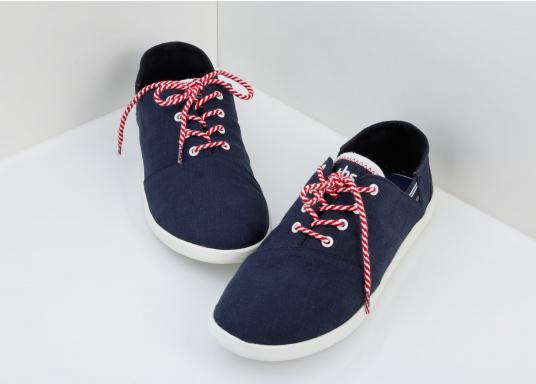 Modischer Canvas Damenschuh der Marke TBS in der Farbe marine blau. Der Schuh ist äußerst komfortabel zu tragen und passt sich dank des geschmeidigen Materials optimal an die Fußform an. (Bild 5 von 12)