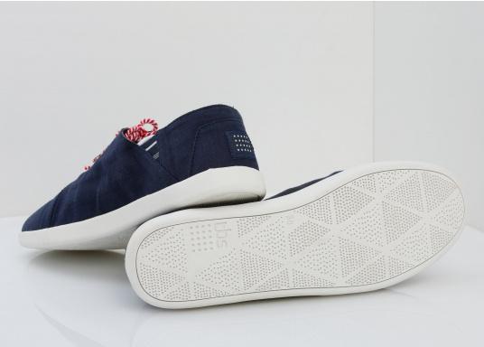 Modischer Canvas Damenschuh der Marke TBS in der Farbe marine blau. Der Schuh ist äußerst komfortabel zu tragen und passt sich dank des geschmeidigen Materials optimal an die Fußform an. (Bild 7 von 12)