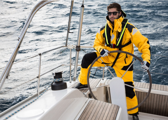 High-quality offshore sailing jacket and pants made of 3-layer fabric with an XPU membrane. Waterproof with Tizip® / MasterSeal® zippers. (Afbeelding 4 of 21)