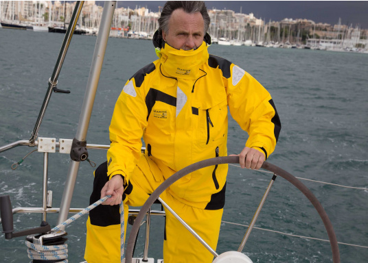High-quality offshore sailing jacket and pants made of 3-layer fabric with an XPU membrane. Waterproof with Tizip® / MasterSeal® zippers. (Afbeelding 6 of 21)