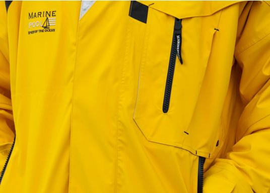 High-quality offshore sailing jacket and pants made of 3-layer fabric with an XPU membrane. Waterproof with Tizip® / MasterSeal® zippers. (Afbeelding 9 of 21)