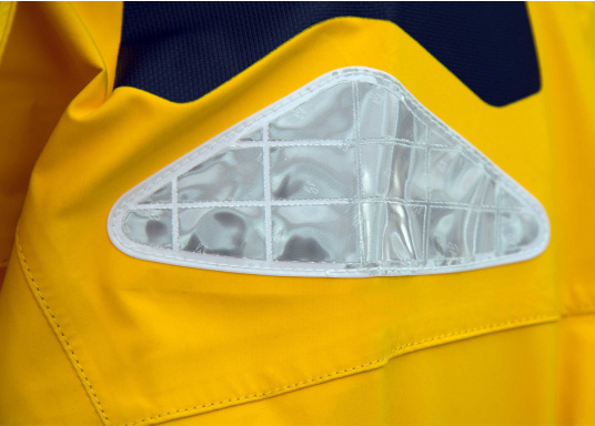 High-quality offshore sailing jacket and pants made of 3-layer fabric with an XPU membrane. Waterproof with Tizip® / MasterSeal® zippers. (Afbeelding 11 of 21)