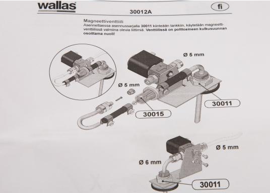 Modèle original de vanne solenoide pour installation sur réservoir (Image 4 de 4)