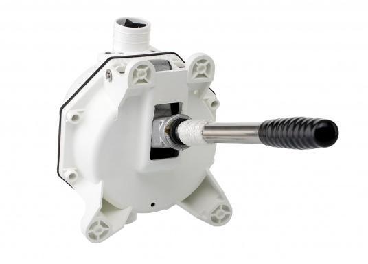 Originale Ersatzpumpe für die Unterdeck-Montage des Vakuum-WC's POPULAR von LAVAC. (Bild 2 von 5)