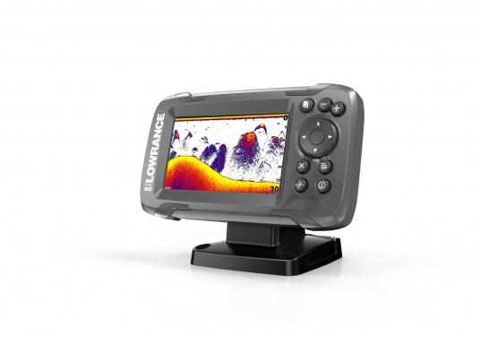 Die neue benutzerfreundliche HOOK² Serie von Lowrance bietet die optimale Lösung der Kombination: Fishfinder und GPS-Plotter. Der LOWRANCE®HOOK²-4 ist ein Fischfinder/GPS-Plotter der Ihnen bewährte Eigenschaften mit einem hervorragenden Preis-Leistungs-Verhältnis bietet – und das in der gewohnt hohen Qualität, die Angler von Lowrance erwarten dürfen. (Bild 3 von 5)