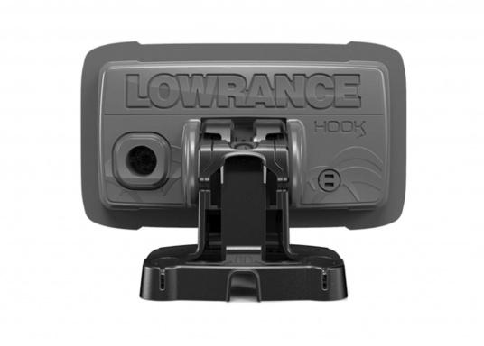 Die neue benutzerfreundliche HOOK² Serie von Lowrance bietet die optimale Lösung der Kombination: Fishfinder und GPS-Plotter. Der LOWRANCE®HOOK²-4 ist ein Fischfinder/GPS-Plotter der Ihnen bewährte Eigenschaften mit einem hervorragenden Preis-Leistungs-Verhältnis bietet – und das in der gewohnt hohen Qualität, die Angler von Lowrance erwarten dürfen. (Bild 5 von 5)