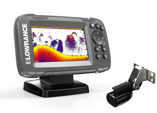Die neue benutzerfreundliche HOOK² Serie von Lowrance bietet die optimale Lösung der Kombination: Fishfinder und GPS-Plotter. Der LOWRANCE®HOOK²-4 ist ein Fischfinder/GPS-Plotter der Ihnen bewährte Eigenschaften mit einem hervorragenden Preis-Leistungs-Verhältnis bietet – und das in der gewohnt hohen Qualität, die Angler von Lowrance erwarten dürfen.