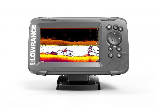 Die neue benutzerfreundliche HOOK² Serie von Lowrance bietet die optimale Lösung der Kombination: Fishfinder und GPS-Plotter.Der LOWRANCE®HOOK²-5x ist ein Fischfinder/GPS-Plotter der Ihnen bewährte Eigenschaften mit einem hervorragenden Preis-Leistungs-Verhältnis bietet – und das in der gewohnt hohen Qualität, die Angler von Lowrance erwarten dürfen. (Bild 3 von 4)
