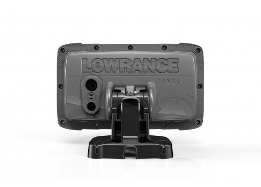 Die neue benutzerfreundliche HOOK² Serie von Lowrance bietet die optimale Lösung der Kombination: Fishfinder und GPS-Plotter.Der LOWRANCE®HOOK²-5x ist ein Fischfinder/GPS-Plotter der Ihnen bewährte Eigenschaften mit einem hervorragenden Preis-Leistungs-Verhältnis bietet – und das in der gewohnt hohen Qualität, die Angler von Lowrance erwarten dürfen. (Bild 4 von 4)