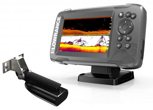 Die neue benutzerfreundliche HOOK² Serie von Lowrance bietet die optimale Lösung der Kombination: Fishfinder und GPS-Plotter.Der LOWRANCE®HOOK²-5x ist ein Fischfinder/GPS-Plotter der Ihnen bewährte Eigenschaften mit einem hervorragenden Preis-Leistungs-Verhältnis bietet – und das in der gewohnt hohen Qualität, die Angler von Lowrance erwarten dürfen.