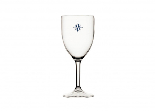 Optimal for use on board! NORTHWIND wine glasses are made of high-quality, impact-resistant, shatterproof plastic. Capacity: 300 ml.