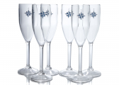 NORTHWIND Champagne Glass Set