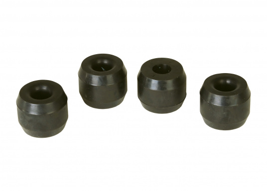 Rubber buffers for your VETUS coupling type 6. The scope of delivery includes 4 rubber buffers.