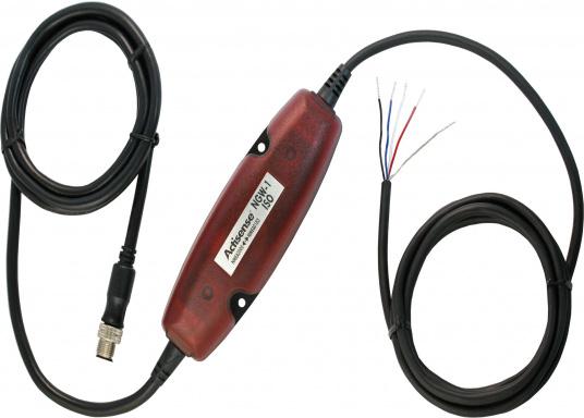 Die Netzwerk-Adapter ermöglichen die Verbindung Ihrerbestehenden NMEA0183-Ausrüstung mit einem NMEA2000-Netzwerk. (Bild 2 von 3)